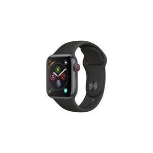 Apple Watch (Series 4) 40 mm - Aluminium Schwarzes - Armband Sportarmband Sportarmband