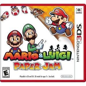 Mario & Luigi Paper Jam Bros - Nintendo 3DS