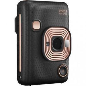 Sofortbildkamera Fujifilm Instax Mini LiPlay Hybrid - Schwarz