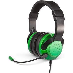 Cascos Reducción de ruido Gaming Micrófono Powera Fusion Emerald Fade - Negro/Verde