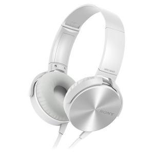 Casque Sony MDR-XB450AP - Blanc/Gris