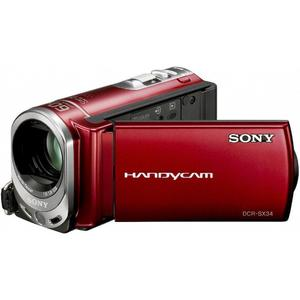 Videocamere Sony DCR-SX34 Rosso