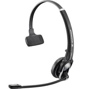 Kopfhörer        mit Mikrophon Sennheiser DW Pro 1 - Schwarz