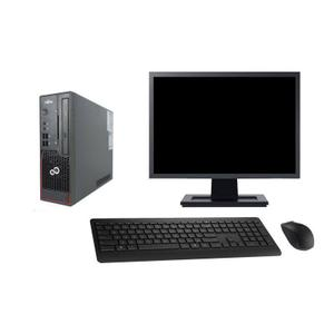 """Fujitsu Esprimo C720 SFF 19"""" Pentium 3 GHz - SSD 480 GB - 16GB teclado francés"""