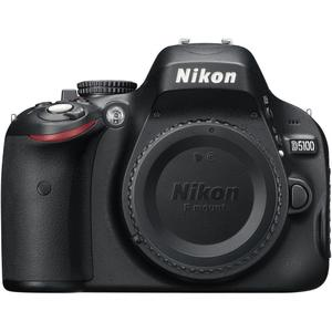 Spiegelreflexkamera Nikon D5100 - Schwarz + Objektiv Nikon AF-S DX Nikkor 18-140mm F3.5-5.6G ED VR