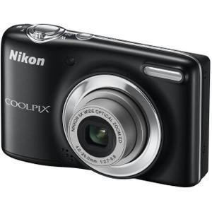 Nikon Coolpix L25 Kompaktkamera - Schwarz