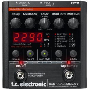 Tc Electronic ND-1 Nova Delay Acessórios De Áudio