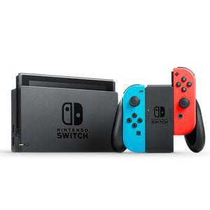 Consoles Nintendo Switch 32Go - Noir + Joycon Rouge / Bleu + Yoshi's crafted world
