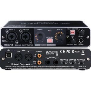 Accessoires audio Roland Quad-Capture UA-55