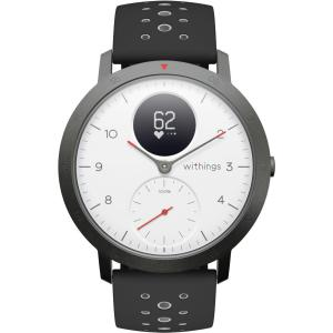 Montre Cardio GPS Withings Steel HR Sport - Blanc/Noir