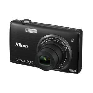 Compact - Nikon Coolpix S5200 Noir Nikon Nikkor Wide Optical Zoom VR 26–156 mm f/3.5-6.5