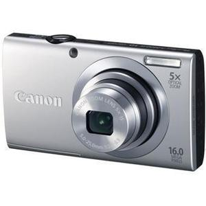 Compactcamera Canon PowerShot A2400 IS Grijs + Lens Canon Zoom Lens 5x IS 28-140 mm f/2.8-6.9