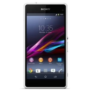 Sony Xperia Z1 Compact 16GB - Valkoinen - Lukitsematon