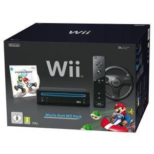 Consola Nintendo Wii + Mario Kart Edition - Negro