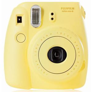 Instant Fujifilm Instax Mini 8 - Keltainen + Objektiivi Fujifilm 60mm f/12.7