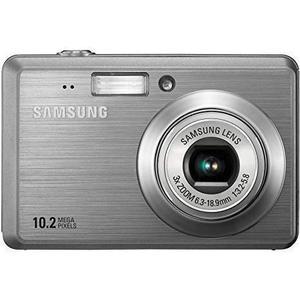 Kompaktkamera  ES55 Grau + Objektiv  Zoom Lens 35 - 105 mm f/3.2 - 5.8