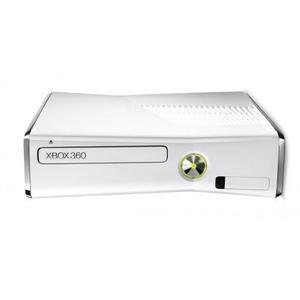 Konsole Microsoft Xbox 360 Slim 4 GB + Kinect + Joystick - Weiß