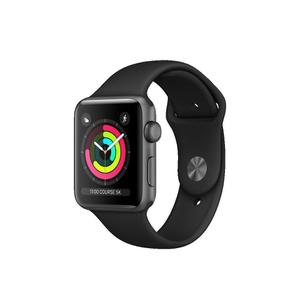 Apple Watch (Series 3) 2017 42 - Aluminium Space gray - Sport loop Black
