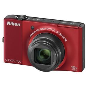 Kompakt Kamera Nikon Coolpix S8000 - Rot