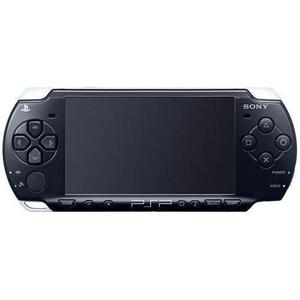Sony PSP 2000 Slim 4GB -pelikonsoli - Musta