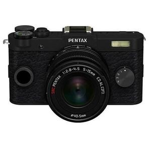 Cámara híbrida Pentax Q-S1 - Negro + objetivo Pentax smc 5-15 mm f/2.8 - 4.5 ED AL [IF]