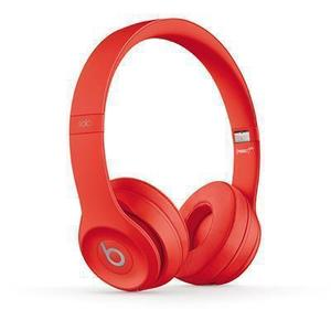 Kopfhörer Bluetooth mit Mikrophon Beats By Dr. Dre Solo3 Wireless - Rot