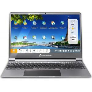 """Ordissimo Lucie 2 art0375 15"""" Pentium 1,1 GHz - SSD 128 Go - 4 Go AZERTY - Français"""