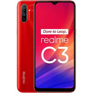 Realme C3 64GB Dual Sim - Punainen - Lukitsematon