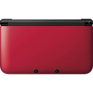 Consola Nintendo 3DS XL 4GB - Rojo / Negro
