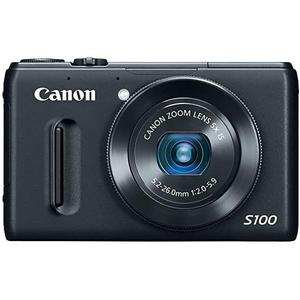 Kompakt - Canon PowerShot S100 - Schwarz