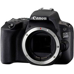 Cámara Réflex - Canon EOS 200D - Negro - Sin Objetivo