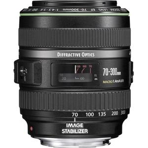 Canon EF 70-300mm f/4.5-5.6 DO IS USM Gb - Negro