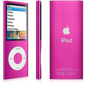 MP3-player & MP4 8GB iPod Nano 4 - Rosa