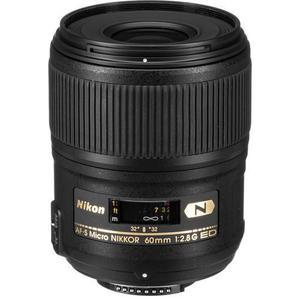 Objektiv Nikon AF-S Micro Nikkor 60 mm 1: 2,8 G ED N