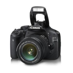 Reflex Canon EOS 550D  - Black + Canon Lens  f/3.5-5.6 IS