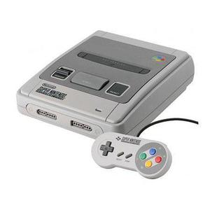 Console Nintendo SNES + manette - Gris