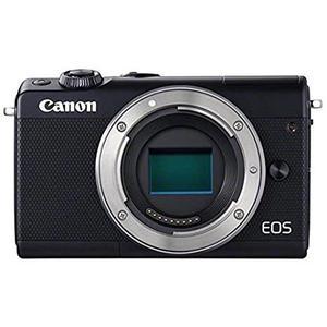 Hybridikamera Canon EOS M100 vain vartalo - Musta