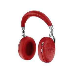 Casque Réducteur de Bruit   Bluetooth  avec Micro Parrot ZIK 3 - Rouge