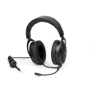 Koptelefoon Ruisonderdrukking Gaming Microfoon Corsair HS50 - Zwart