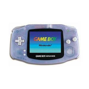 Console Nintendo Game Boy Advance - Transparant Grijs