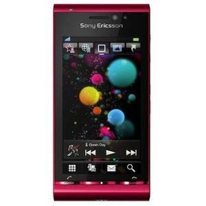 Sony Ericsson Satio (Idou) 0,128 Go - Rouge - Débloqué