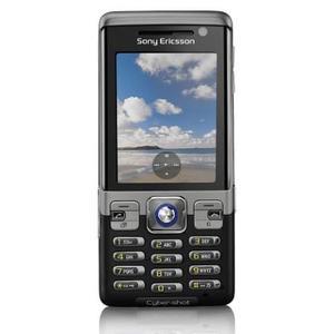 Sony Ericsson C702 - Schwarz/Grau- Ohne Vertrag