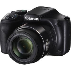 Bridge Canon PowerShot SX540 HS - Musta + Objektiivi Canon 24-1200mm f/3.4-6.5