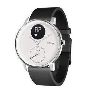 Montre Cardio GPS Nokia Steel HR - Blanc/Noir