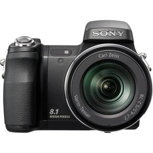 Compact Sony Cyber-shot DSC-H9 - Zwart