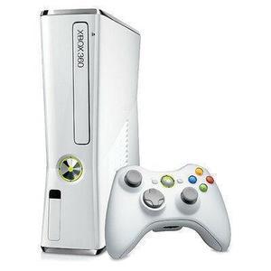 Spielekonsole Microsoft Xbox 360 Slim 320 GB + Controller - Weiß