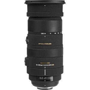 Objektiivi Sigma EF 50-500mm f/4.5-6.3 DG APO HSM