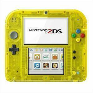 Console Nintendo 2DS 4 Go édition spéciale Pikachu version - Jaune