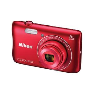 Compact Nikon Coolpix S3700 - Rood