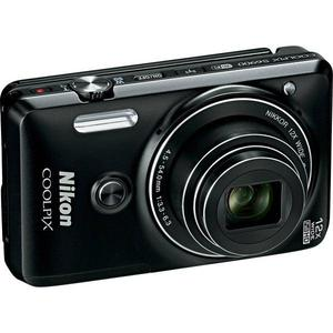 Compact Nikon Coolpix S9600 - Zwart